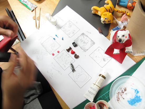 六格腳本與小道具製作中