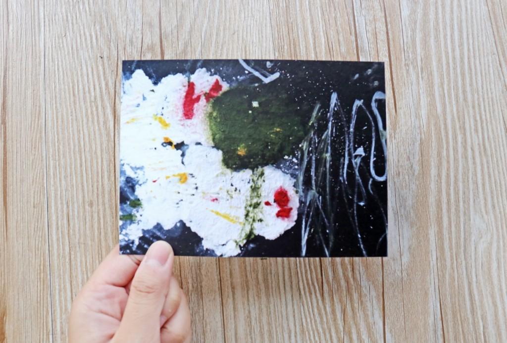 謙謙三歲作品集【下雪了】我與媽媽雪人看聖誕樹