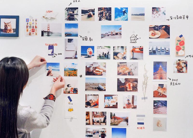 點點印 照片牆