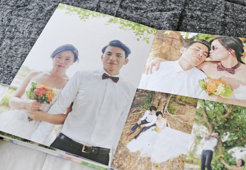婚紗攝影集