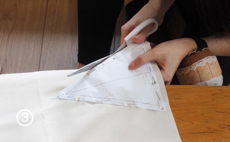 步驟3-沿著現剪下來(可以把板模拿下)