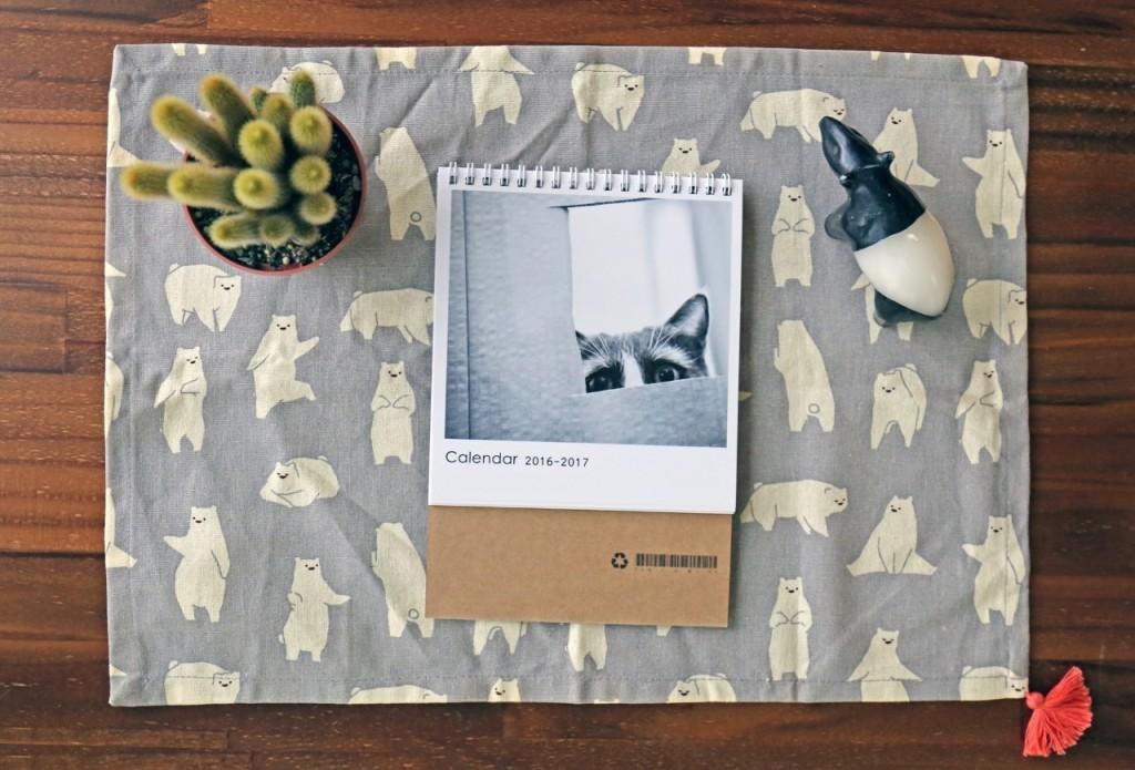 DIY桌曆