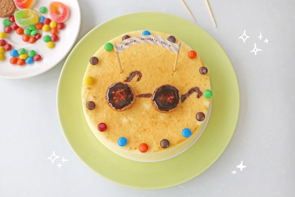 點點印_手作父親節蛋糕_